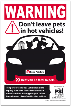 heat is fatal to pets